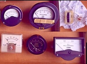 Vintage Analog Panel Meter Virtual Orchard Pick Your Own