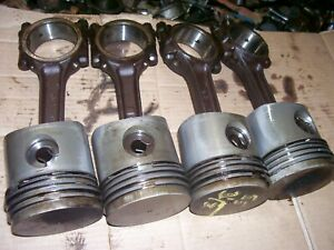 Vintage Oliver 55 Gas Tractor 3 1 2 Pistons Rods 180107