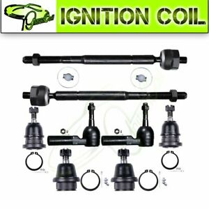 8pc Brand Front Steering Parts Ball Joint For 2005 2015 Toyota Tacoma 2wd Only