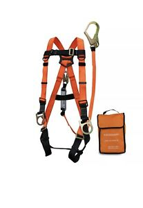 Spidergard Spkit02 Three D ring Full Body Fall Protection Safety Harness Combo