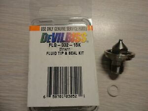 Flg 332 15k Devilbiss Fluid Tip And Seal Kit