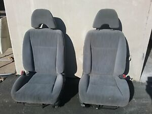 2001 2005 Honda Civic Ex Left And Right Front Complete Seat Assembly