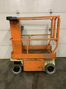 2011 Jlg 1230es 12 Electric Runabout Scissor Vertical Mast Drivable Man Lift