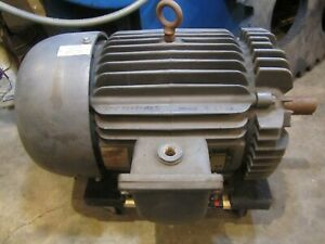 Baldor M7054t Electric Motor 15 Hp 1760 Rpm 230 460 3 Phase