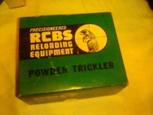 Vintage Rcbs powder measure with box $24.99
