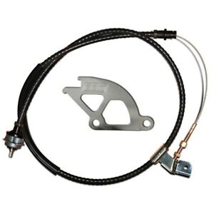 Bbk Adjustable Clutch Quadrant And Cable Kit For 1979 1995 Ford Mustang 1505