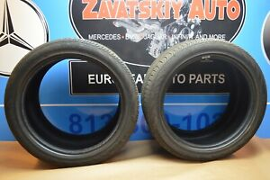 Two Used 235 35r18 Continental Contiprocontact 285 35 18 Pair