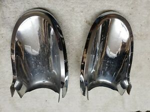 1962 Mercury Meteor Tail Light Bottoms Left And Right