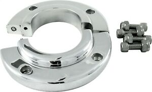 Borgeson 909008 Steering Column Split Swivel Floor Mount Polished Aluminum