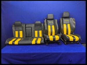 2015 2016 2017 2018 Dodge Challenger Srt Hellcat Front Rear Leather Seats Oem