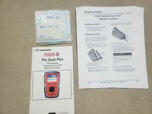 Otc Matco Pro Scan Plus Update Software Scanmate 2007 Domestic Asian Security
