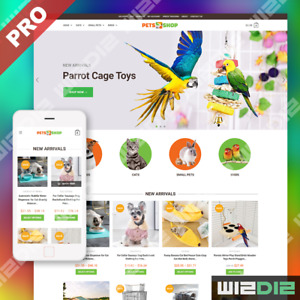 Pet Shop Turnkey Dropshipping Store Professional Website Business For Sale