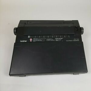 Brother Ax 24 Electronic Typewriter Wordspell Pre Owned