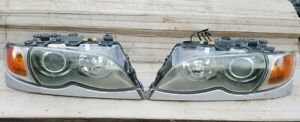 2002 2005 Bmw E46 Sedan 325i 330i Original Xenon Hid Headlight Lamp Set Pair Zhp
