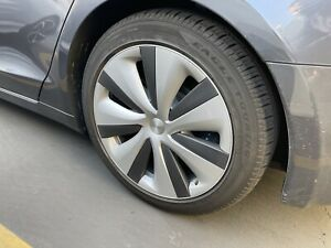 Tesla Model S 2020 19 Inch Tempest Wheels Tires Oem Almost New