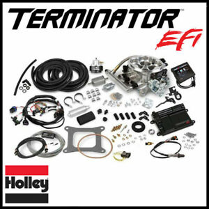 Holley Efi 4bbl V8 Throttle Body Fuel Injection Master Kit 250 600hp 950 Cfm