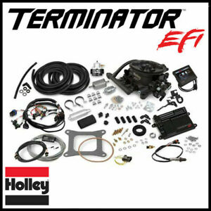 Holley Efi 4bbl V8 Throttle Body Fuel Injection Master Kit 950 Cfm 250 600hp