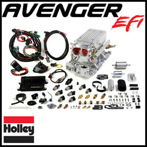 Holley Avenger Efi Stealth Ram Fuel Injection System Sbc 1995 Earlier Heads
