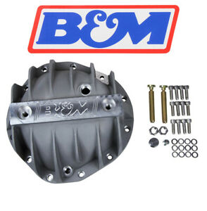 B M 70504 Cast Finned Aluminum Differential Cover Chevy 8 875 12 Bolt Truck