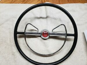 1955 Mercury Montclair Steering Wheel With Power Steering Horn Ring