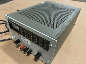 Hp6111a Stb Series Single Meter Bench relay Rack Transistorized Dc Power Supply