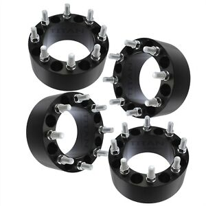 4 3 Wheel Spacers 8x6 5 9 16 Fits Dodge Ram 2500 3500 Ford F250 F350 Trucks