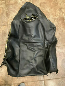 02 06 Acura Rsx Passenger Right Front Seat Cover Only graphite Leather