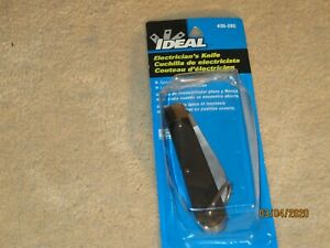 Ideal Electrician s Knife 35 285 440a Stainless Steel