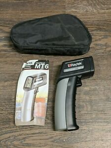 Raytek Mt6 Non contact Minitemp Infrared Thermometer With Holster Owners Manual