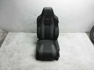 2019 Honda Civic Si Coupe Front Driver Left Seat Without Srs