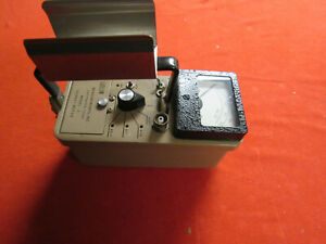 Ludlum Model 2 Survey Meter Tested Working In Great Shape