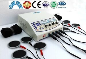 Home Prof Use 4 Channel Electrotherapy Machine Physical Pain Relief Therapy De