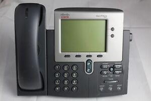 Cisco Cp 7941g ge Unified Ip Voip Business Office Desk Phone 7941g ge