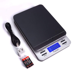 Fuzion Shipping Scale Accurate Digital Postal Scale 86 Lb 0 1 Oz With Hold And