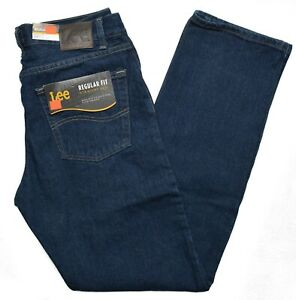 Lee #10362 NEW Men#x27;s Regular Fit Straight Leg 100% Cotton Orion Jeans $19.99