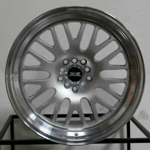 4 new 17 Xxr 531 Wheels 17x8 4x100 4x114 3 25 Hyper Silver Ml Rims