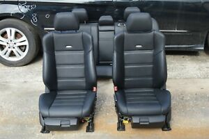 2012 W212 Mercedes E63 Amg E550 Dynamic Heated Cooled Complete Blk Seat Seats