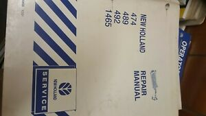 New Holland Mower conditioner Manual 474