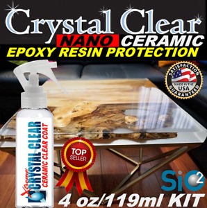 Epoxy Resin Ceramic Sealant Crystal Clear Epoxy Resin Table Bar Top Protection