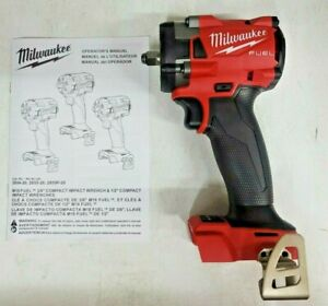 New Milwaukee M18 Fuel 3 8 Stubby Impact Wrench Bare Tool 2854 20
