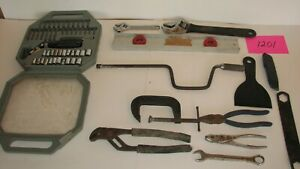 Lot Of Used Tools Junk Drawer Box See Photos Free Shipping Free Returns