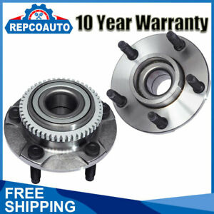 Front Left And Right Wheel Bearing Hub Assembly For 1994 2004 Ford Mustang 5 Lug
