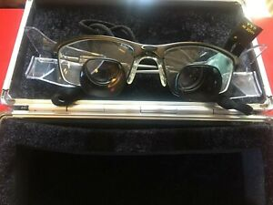 Orascoptic Dental Loupes 2 5x Magnification With Hard Case Quick Free Shipping