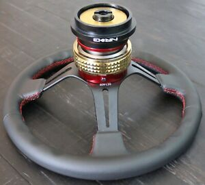 Nrg Short Hub Quick Release Steering Wheel Rs 2 1cg Acura 90 93 Integra