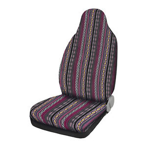 Universal Purple Front Seat Covers Saddle Blanket Seat Cover Fit For Car