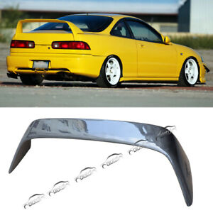 Carbon Fiber Rear Trunk Lid Wing Spoiler For 1994 2001 Honda Acura Integra Dc2