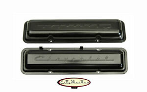 59 67 Chevrolet Script Small Block Valve Cover Covers New Ready To Paint
