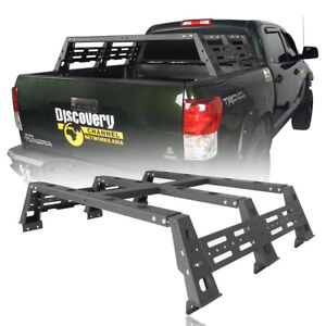 12 9 Tall High Bed Rack Truck Luggage Carrier Holder Fit 07 13 Toyota Tundra