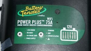 Battery Tender Power Plus 12v 75a Engine Starter Booster Battery Charger