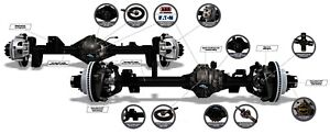 Axle Complete Assembly spicer Axle Assembly Dana Spicer Fits 2018 Jeep Wrangler